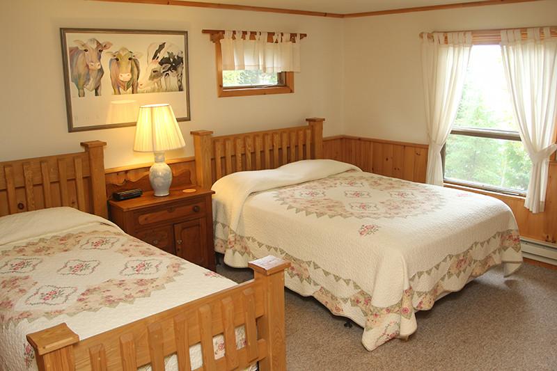 Keller Cabin Bedroom