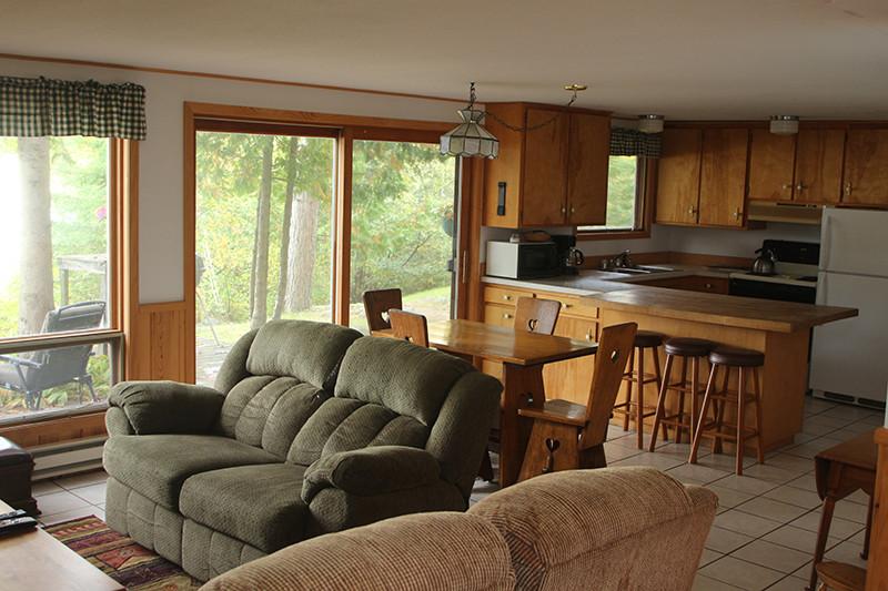 Keller Cabin Living Room