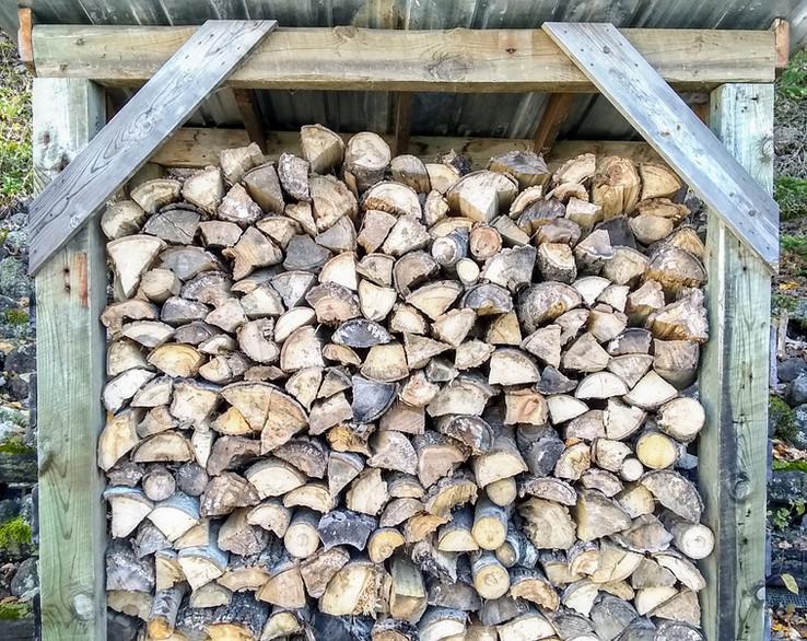Shorewood Firewood Shed