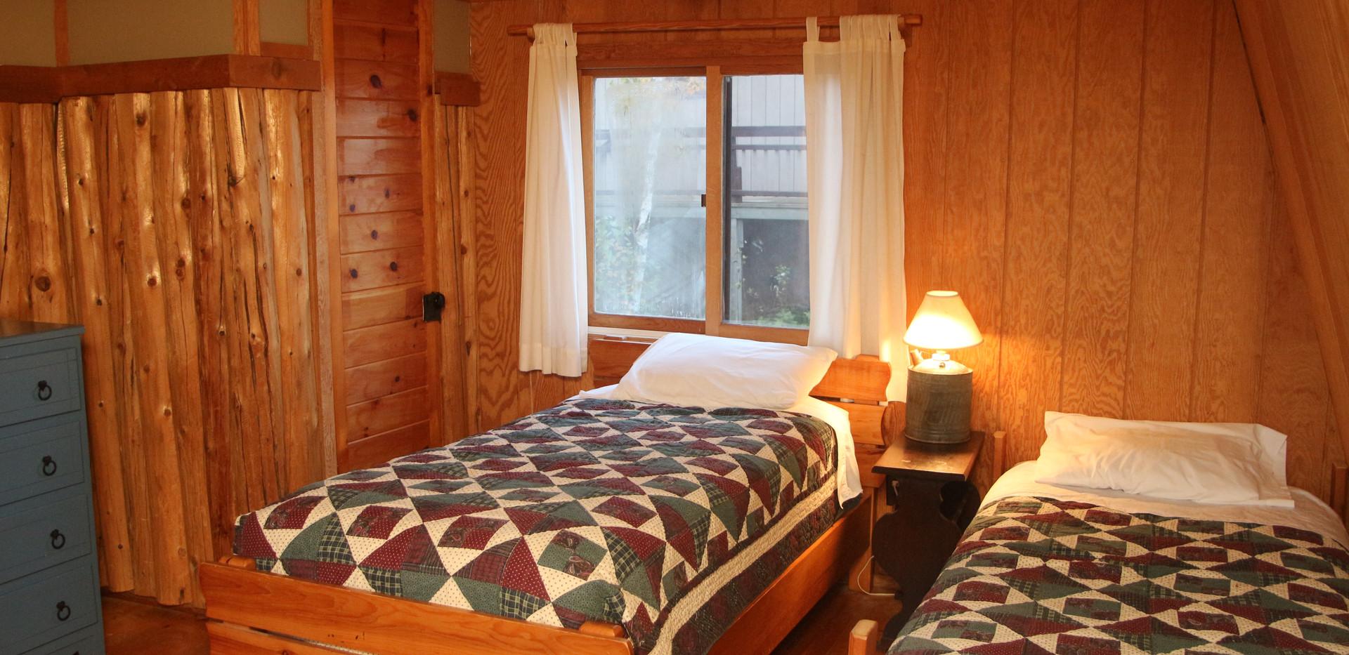 Split loft with single beds 2.