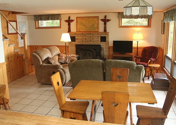 Keller Cabin Dining Area