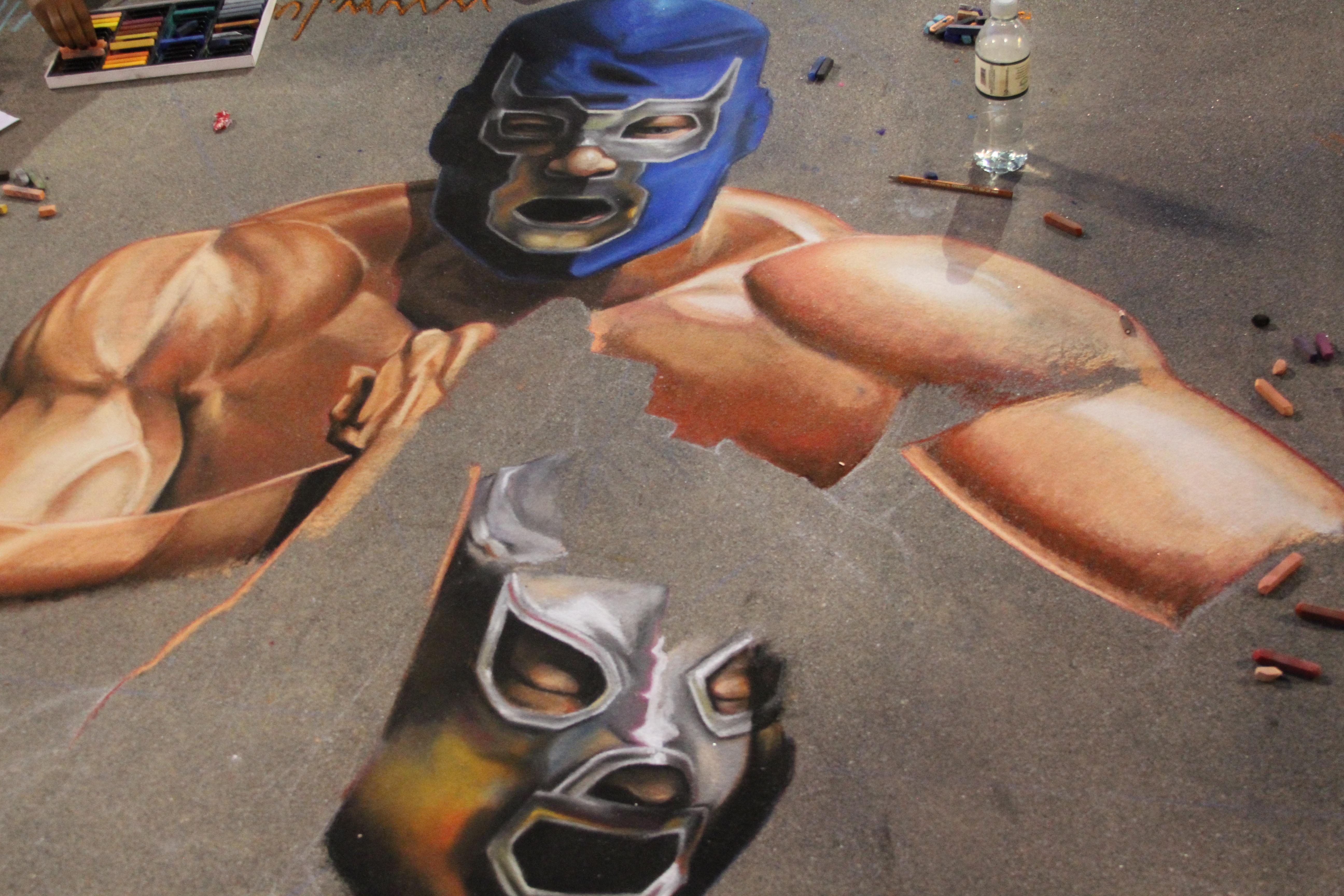 Pasadena Chalk Festival 2011
