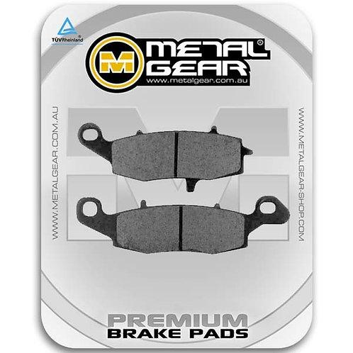 Metal Gear Organic Kawasaki Ninja 250 Brake Pads