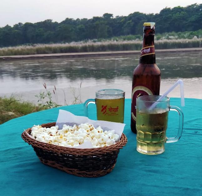 Local Beer - Gorkha @Transformerz
