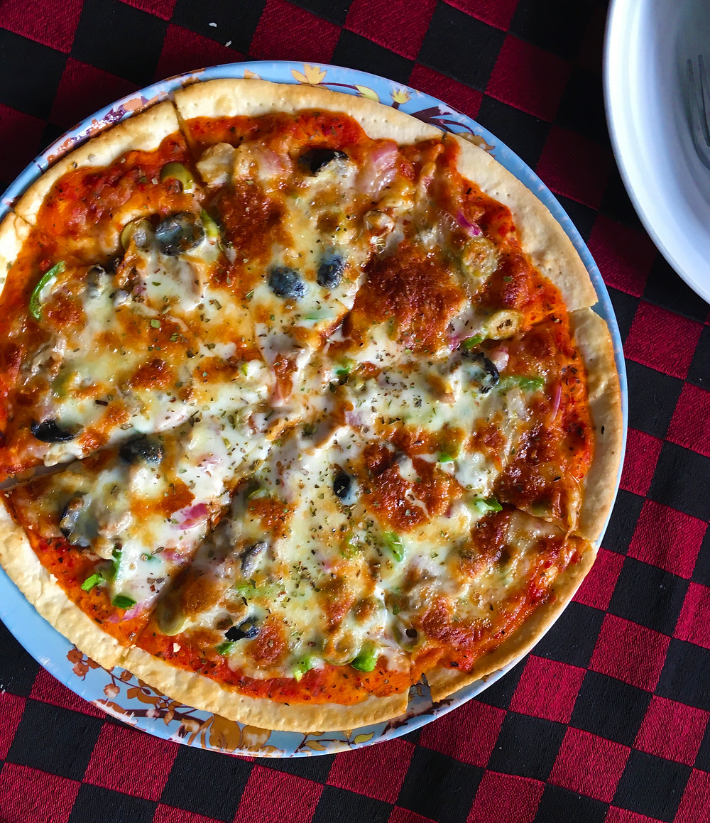 Wood Oven Pizza - Little Italy - Pushkar