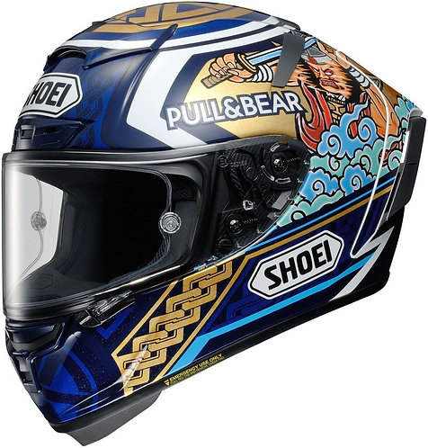 Shoei X-14 Marquez Motegi 3 TC-2 Helmet