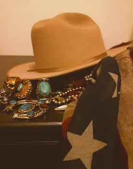 While Cleaning Out Their Storage Space, His Aunt Found A Pair Of Stetson  Hats That Belonged To His Uncle And Grandfather.