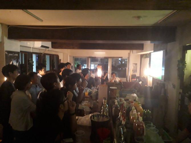 W杯観戦イベント🎉日本vsコロンビア