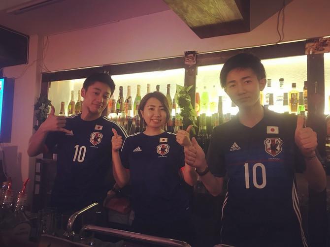 W杯観戦イベント日本VSセネガル