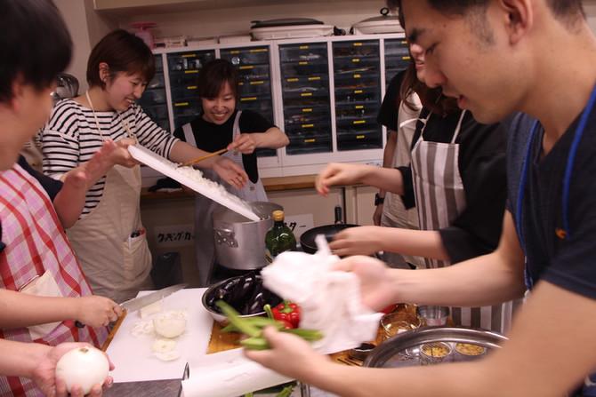 5/5(土)Ring料理教室🍛