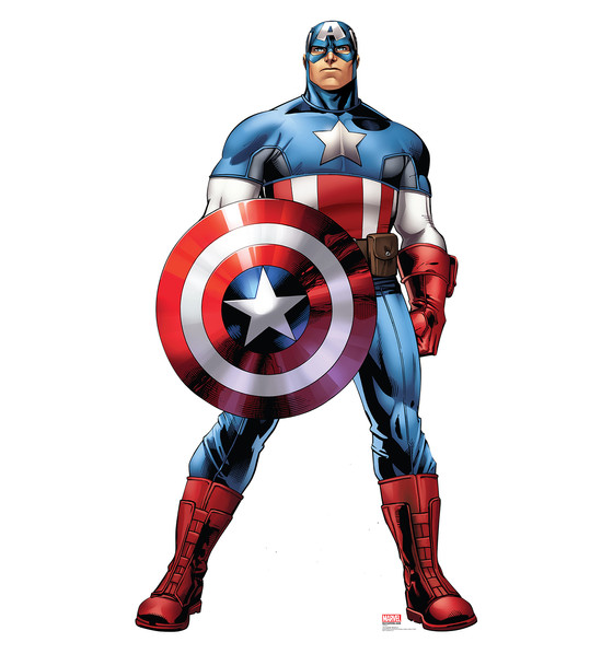 Captain America ain't natty (and the declaration of independence makes it ok).