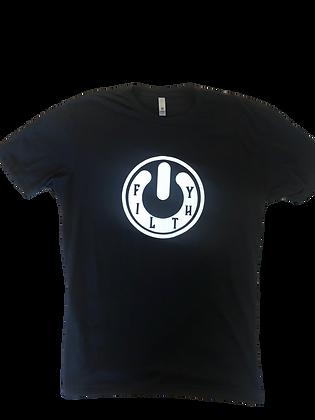 Filthy Power - black T-shirt