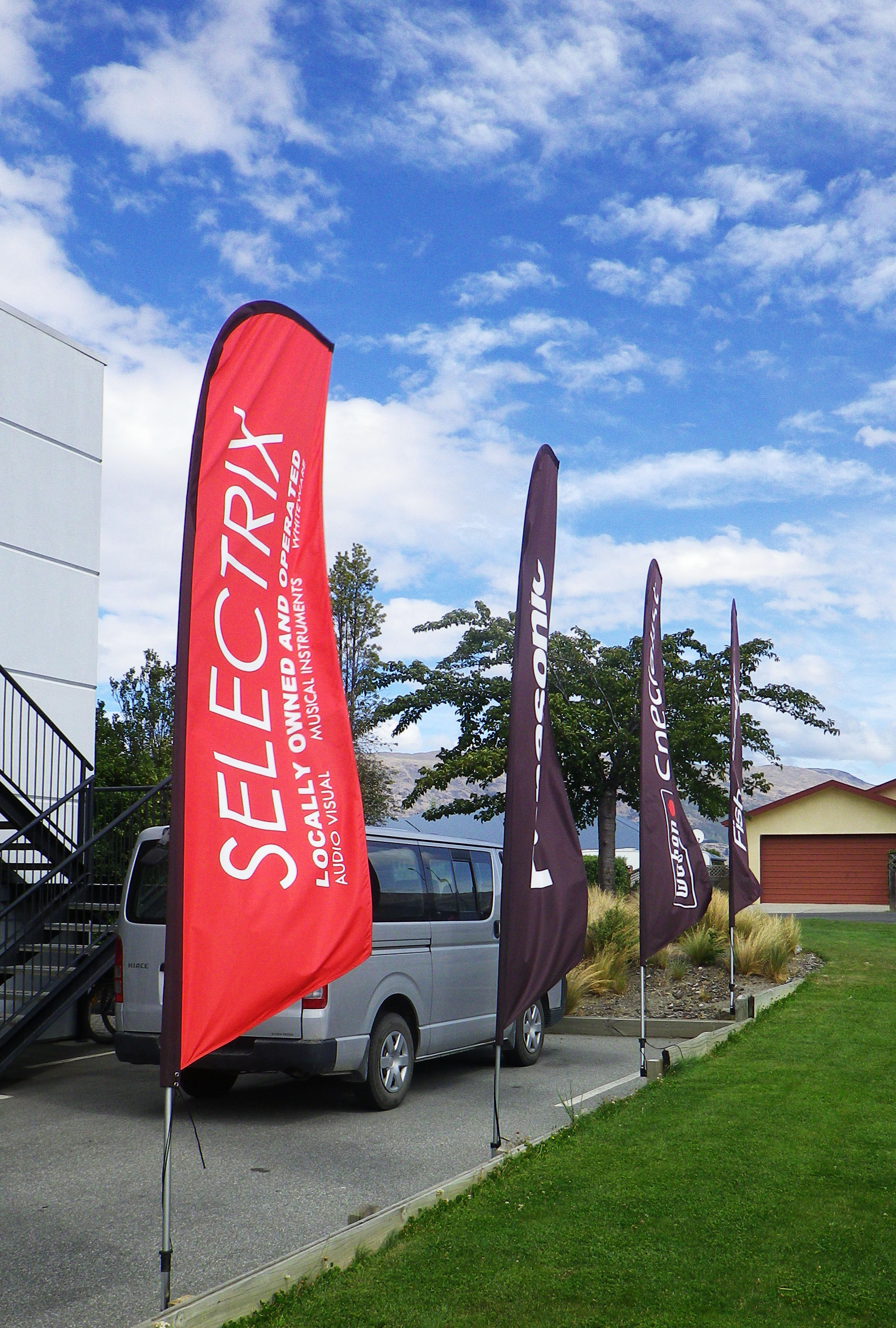 Selectrix flags