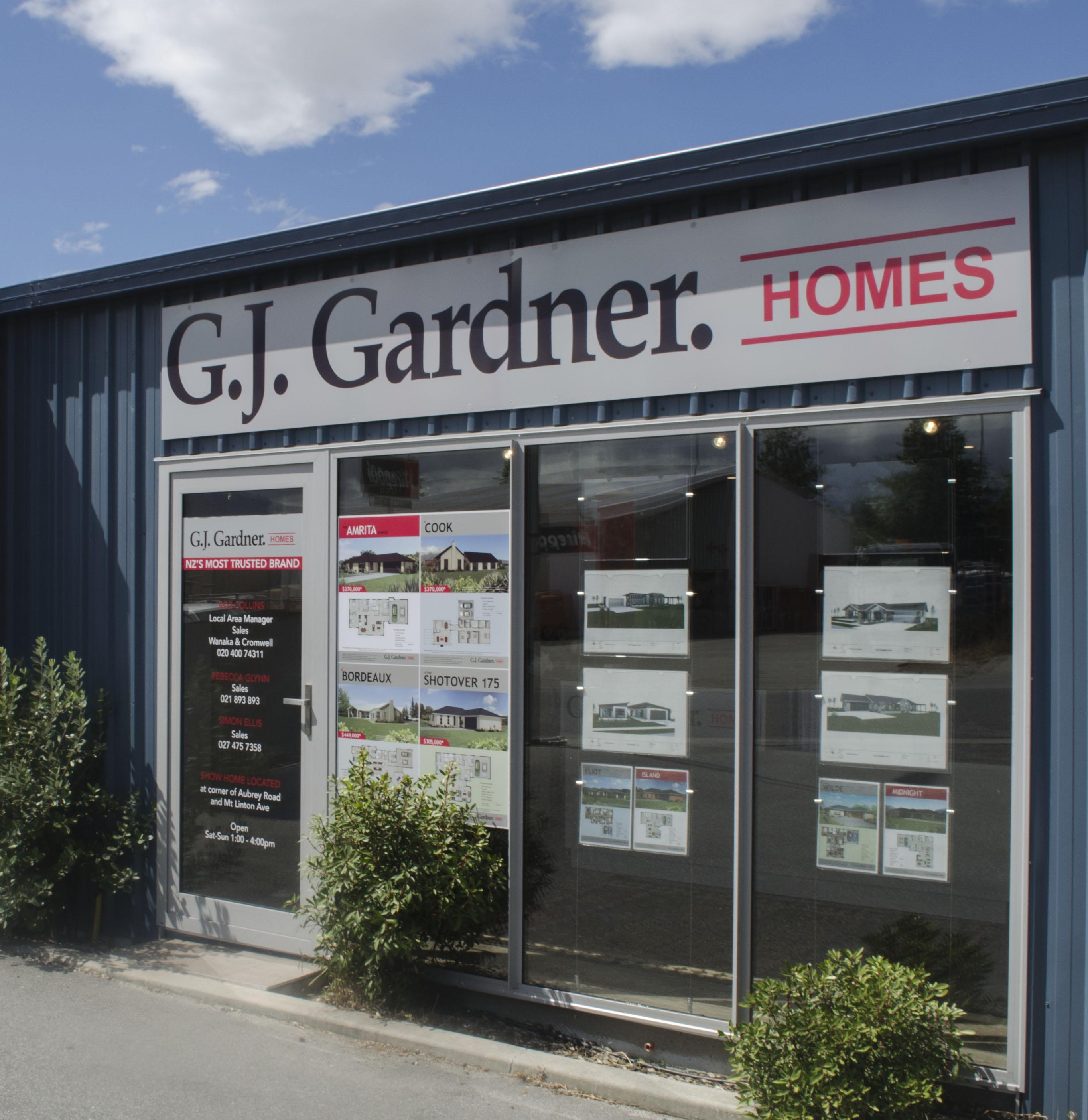 GJ Gardner shop front