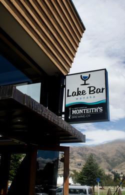 Lake Bar light box