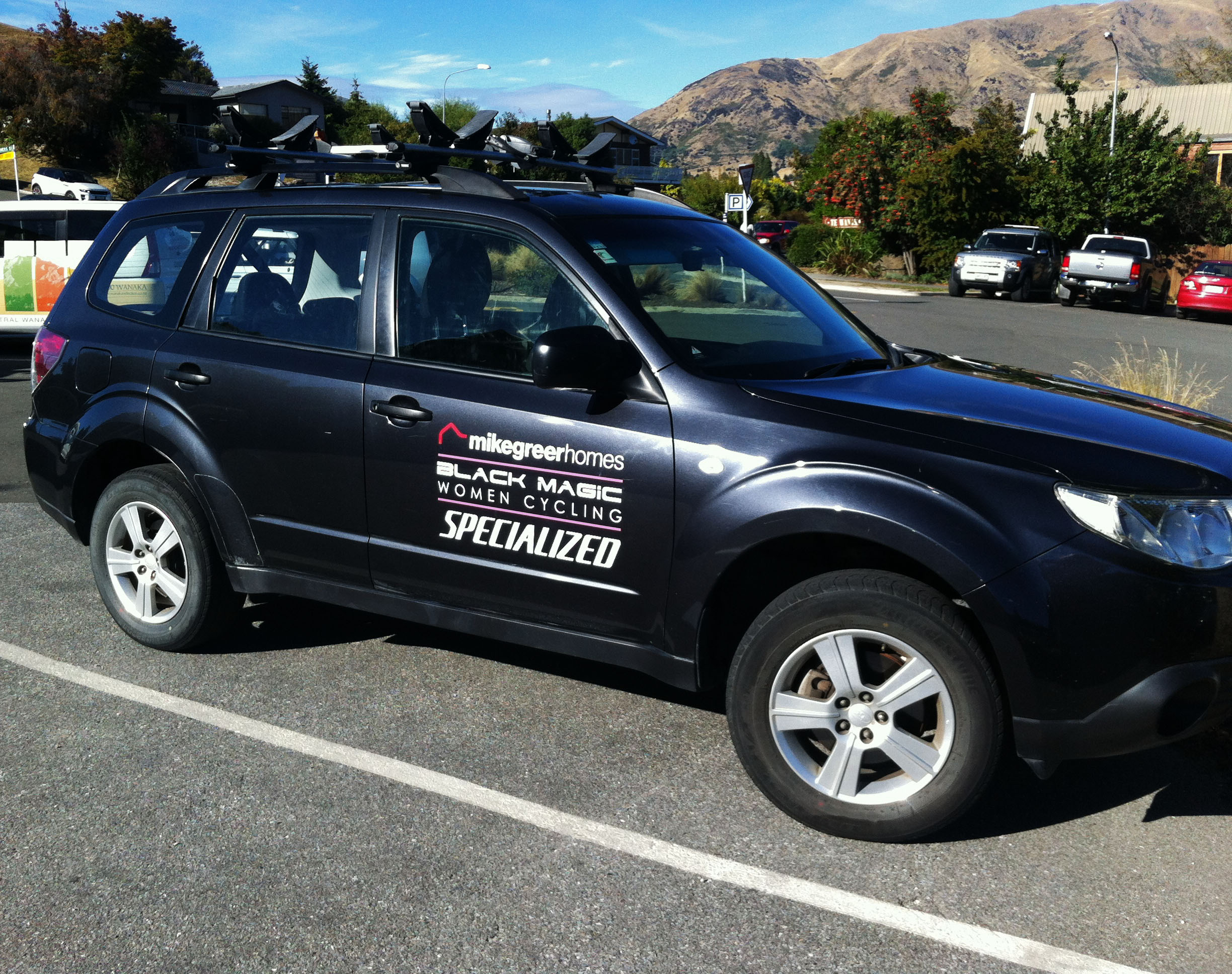 Mike Greer Homes Vehicle wrap
