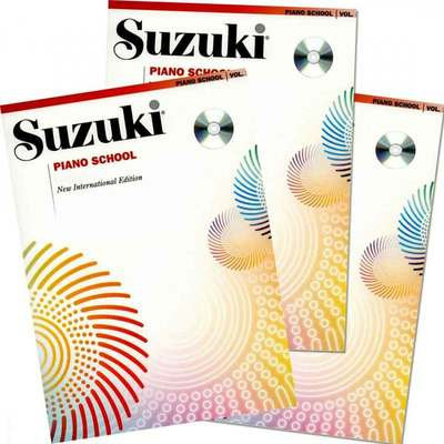 Suzuki Piano School Piano Book and CD, Volume 4