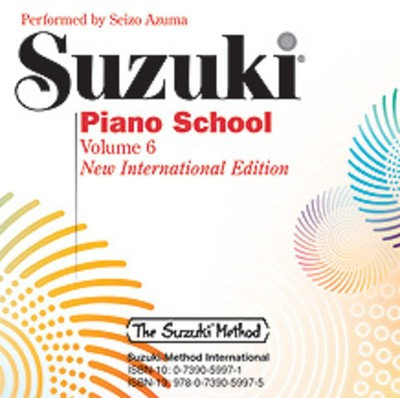 Suzuki Piano School CD, Volume 6