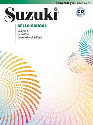 Suzuki Cello School Cello Part & CD Vol. 8 (Revised)