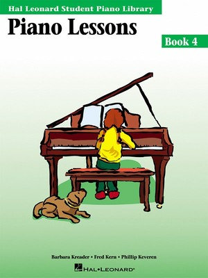 Hal Leonard Student Piano Lessons - Book 4