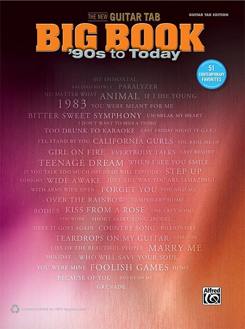 The New Guitar TAB Big Book: '90s to Today