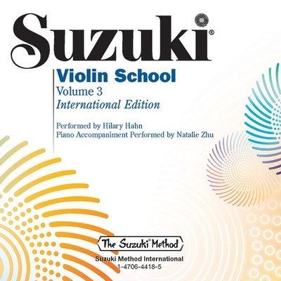 Suzuki Violin School Vol. 3 Performance/Accompaniment CD