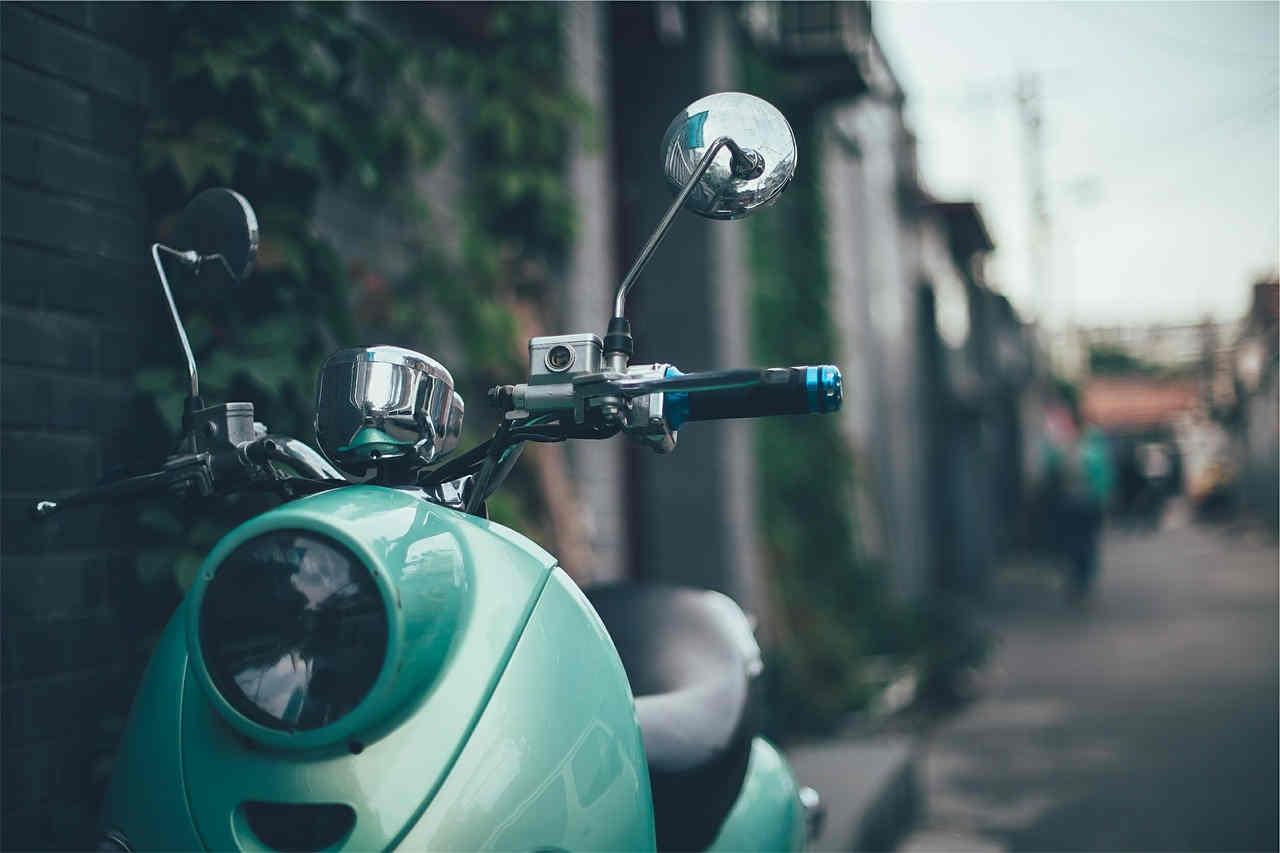 Motorroller sizilien