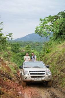 Travelling in style, Chocó Rainforest, Ecuador