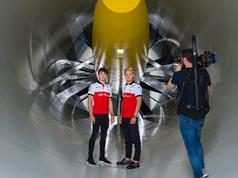 The wind tunnel, Alfa Romeo Sauber F1