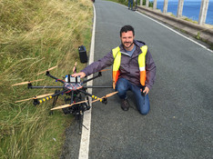 Droning in North Wales