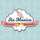 Logotipo de cliente: Santa Monica Biscoitos Decorados