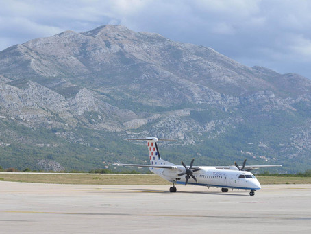 Croatia Airlines danas letjela iz Zagreba za Osijek sa DashQ400