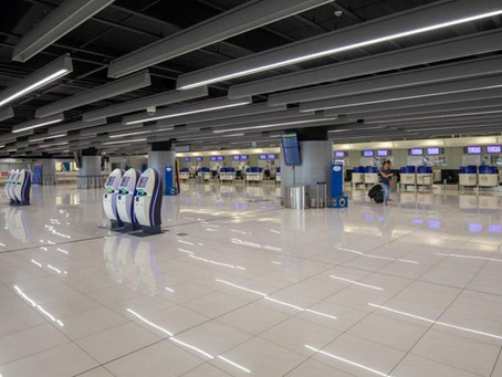 Dubrovnik Airport this weekend had just 19 aircraft operations