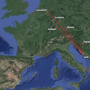 Prvi vikend zimskog reda letenja u Splitu i Dubrovniku