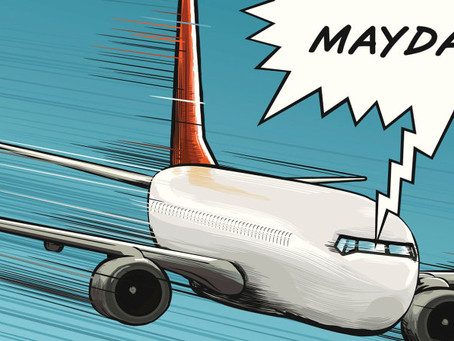"""MAYDAY"" and ""PAN-PAN"" - words that passengers wouldn't want to hear in the air"