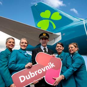 U listopadu 10 letova tjedno između Dublina i Hrvatske