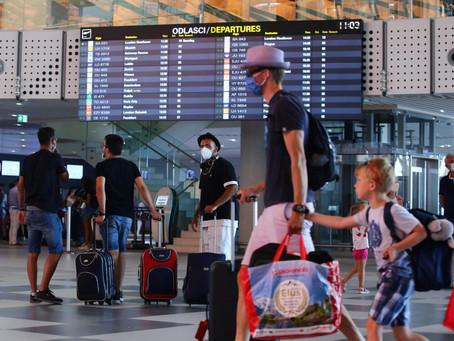 Nedjeljni promet u hrvatskim zračnim lukama