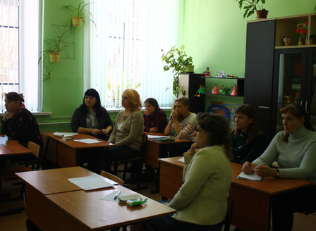 Обучающий тренинг для педагогов школы