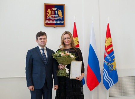 Во время праздничного приема губернатора Ивановской области Станислава Воскресенского руководителю Ц