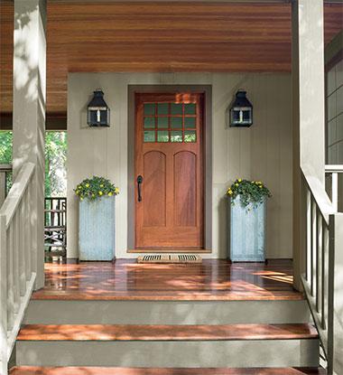Exterior Paint: Front Door