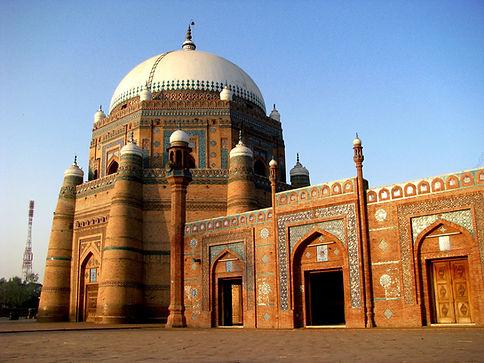 mausoleumof shah rukhn e alam near hotel sindbad multan