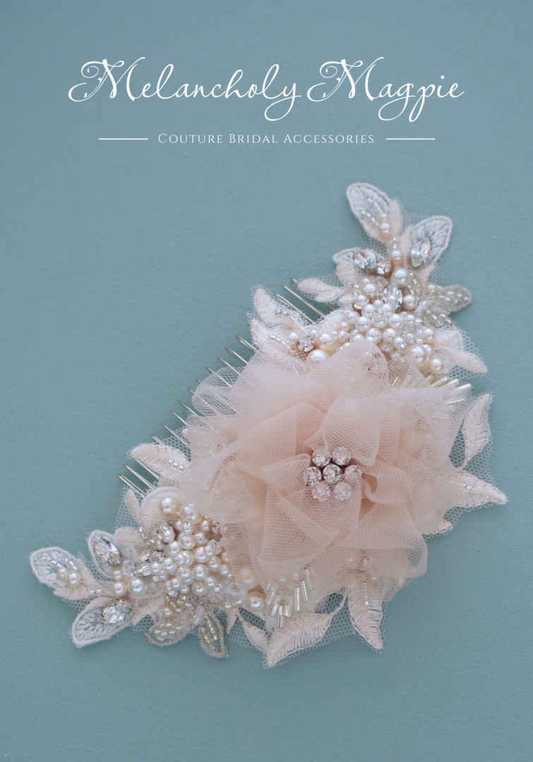 """Guinevere 6"""" hair comb"""