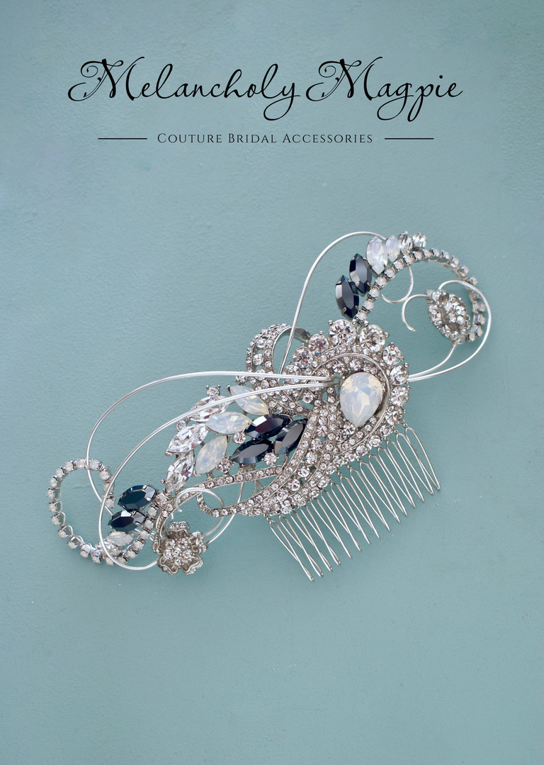 Bespoke 1920's themed comb
