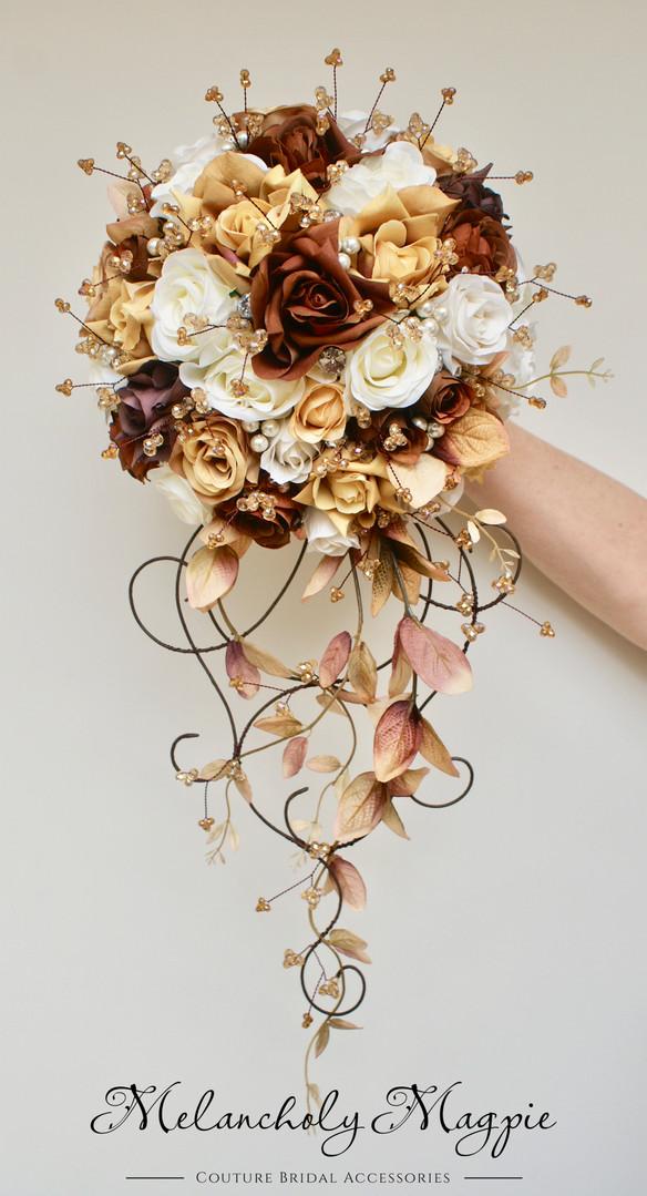 Bespoke Autumnal Venetian Soriee bouquet