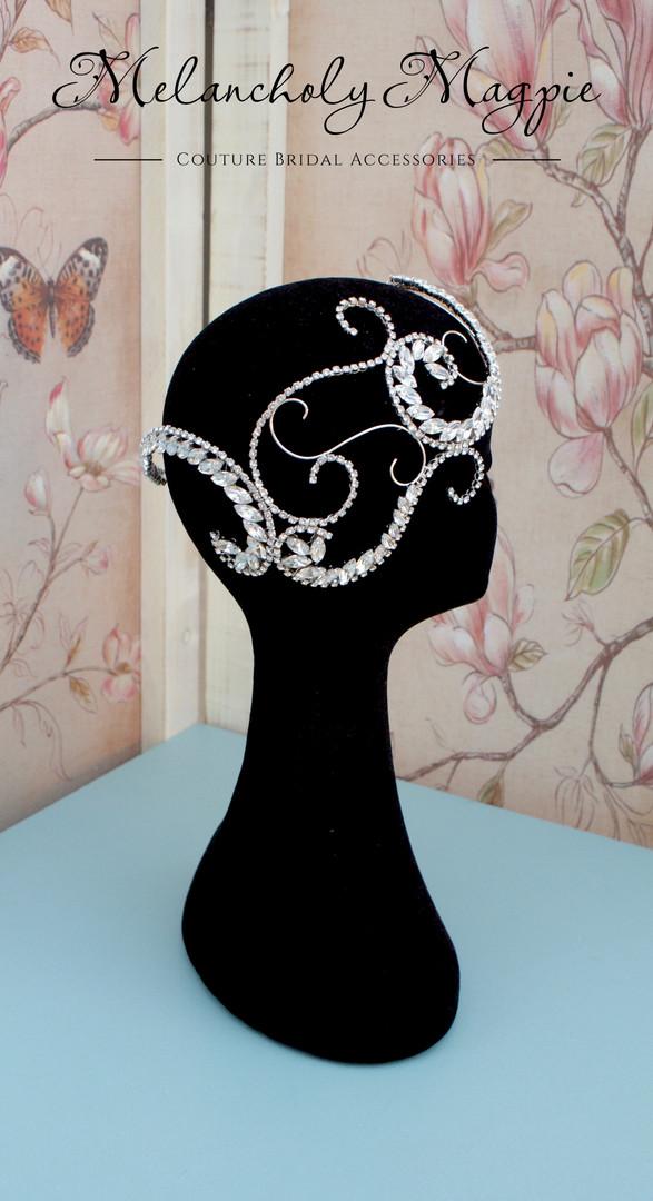 Siren hair skull cap