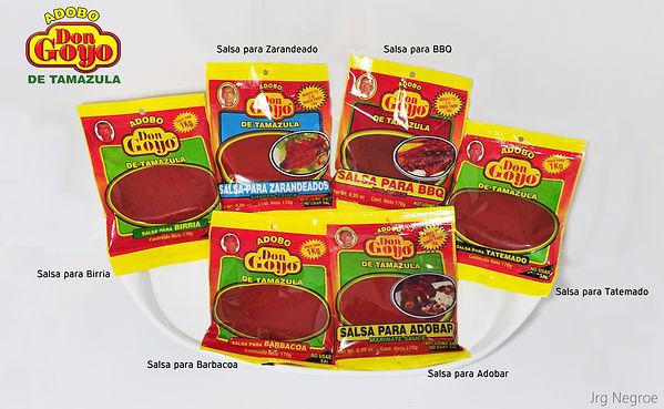 adobo don goyo, salsas para dobar, bbq, tatemado, zarandeado, birria, adobar, barbacoa