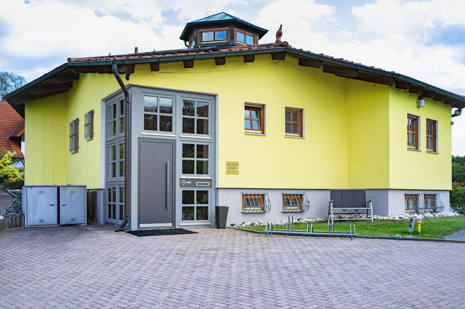 zahnarzt-hammerweg-weiden-in-der-oberpfalz-praxis-von-außen