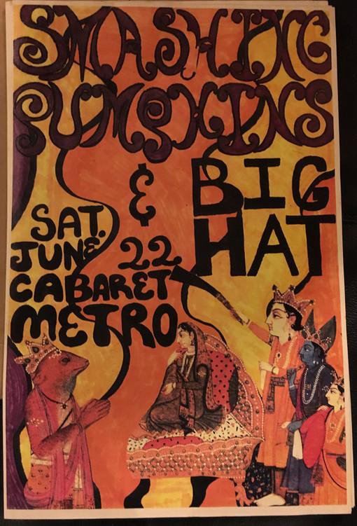 Memorabilia Monday: 1991 Cabaret Metro Poster