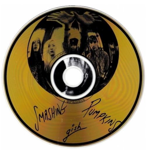 MEMORABILIA MONDAYS: Gish limited gold CD