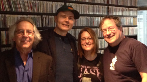 LISTEN: Billy Corgan Visits the XRT Morning Show TODAY